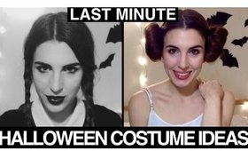 LAST MINUTE HALLOWEEN COSTUME IDEAS 2015