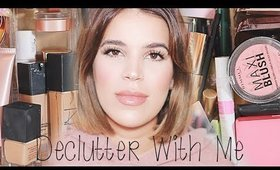 DECLUTTER & ORGANIZE MY MAKEUP COLLECTION WITH ME | March 2020