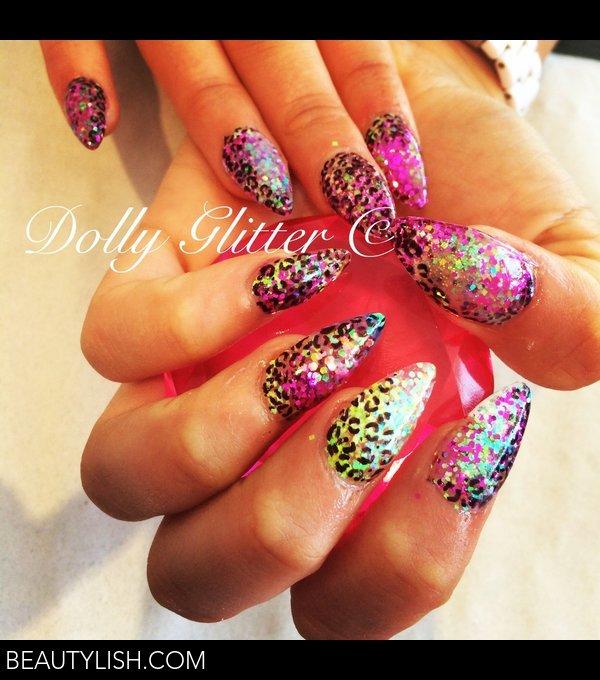 Glitter Nails With Sharpie Pen Nail Art Love Ds Photo Beautylish