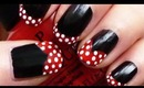 Minnie Mouse Nails Tutorial