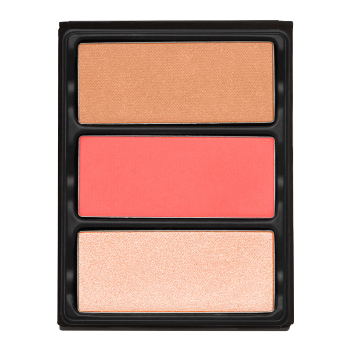 Viseart Theory Highlighter, Blush, & Bronzer 02 Ablaze alternative view 1 - product swatch.