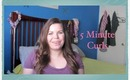 5 Minute Curls Tutorial ❀ Makeup MAYhem Day 9 ❀