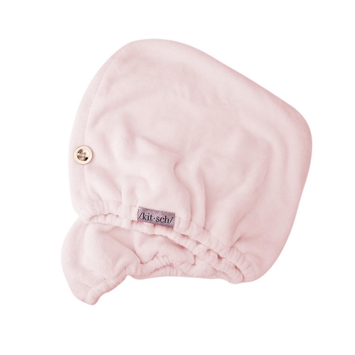Kitsch Microfiber Hair Towel Blush alternative view 1 - product swatch.