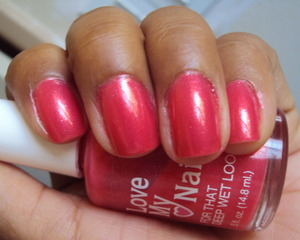 Love My Nails in Strawberry Sizzle
