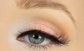 Simply Pink Eye Makeup Tutorial
