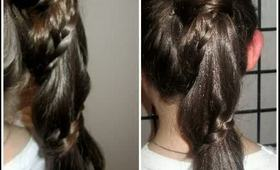 How To: Carousel Braid Ponytail