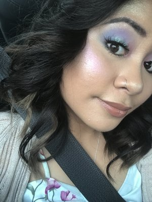 Lorac Beauties Who Brunch Palette, NYX Lavender Steel Highlight