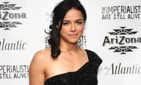 Michelle Rodriguez' Sexy Side Ponytail
