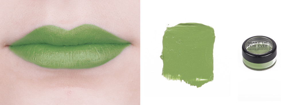 Green Lipstick: Make Up For Ever