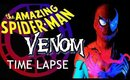 Spider-Man / Venom UV Body Paint