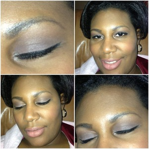 Everyday look done by me.