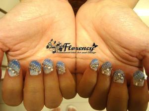 Additional: korean swarovski, lace sticker, and glitter
