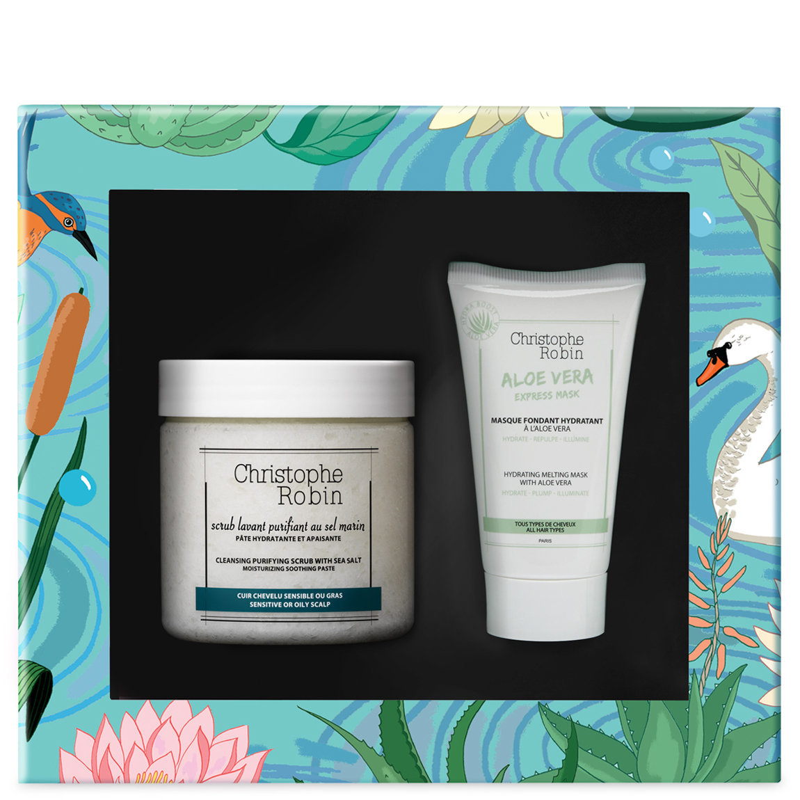 Christophe Robin Healthy Glow Gift Set alternative view 1 - product swatch.