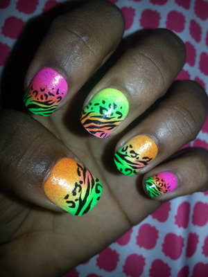 does anyone like my crazy nails ?
