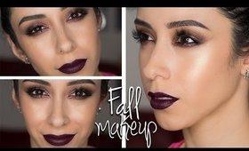 Fall Plum Makeup Tutorial || Tarte Tarteist Pro Eyeshadow Palette