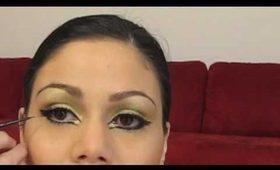 Ancient Queen Gold Makeup/ Maquillaje Reina Antigua