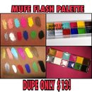 Makeup forever flash palette dupe!