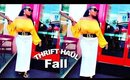 HOW TO DRESS CLASSY THRIFT fall HAUL