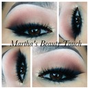 smoked out eyeliner with brown shadow