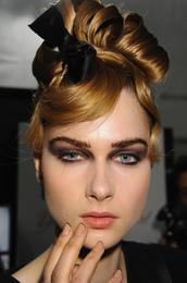 New York Fashion Week, Fall 2011: CND at Monique Lhuillier