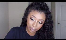 Prom Makeup for WOC | Ft. Samsbeauty Hair
