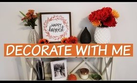 DECORATE FOR FALL WITH ME. PART 1