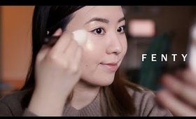 Fenty Beauty by Rihanna | Golden Glow Makeup