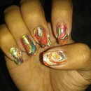 Colorful Water Marble