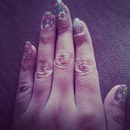 Flowery nails