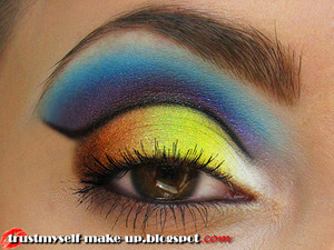 More pictures and full list od used products: http://trustmyself-make-up.blogspot.com/2012/08/face-chart-inspired-make-up-look.html