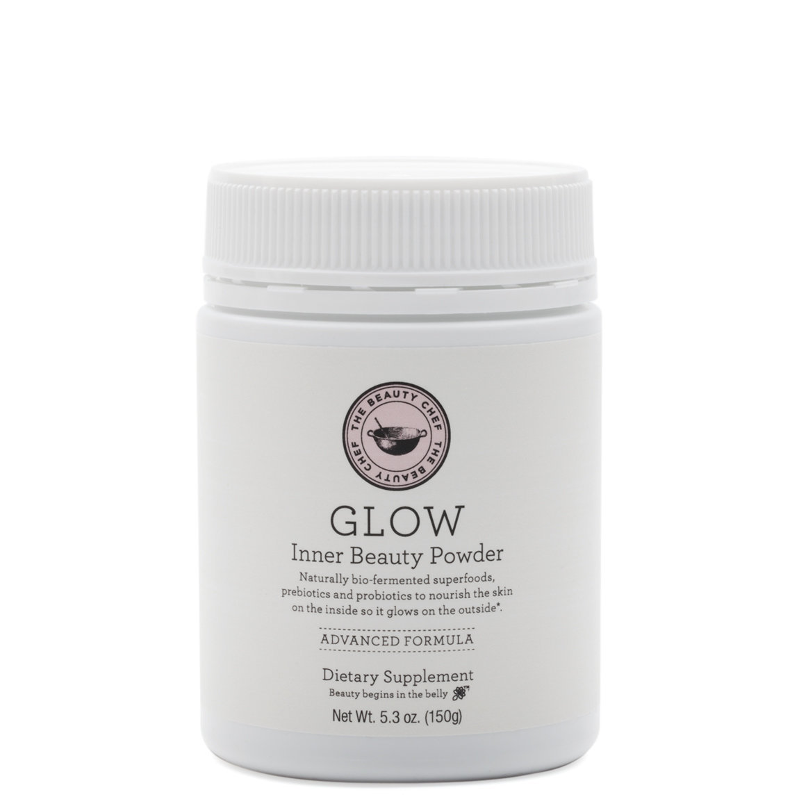 The Beauty Chef GLOW Advanced Inner Beauty Powder product smear.