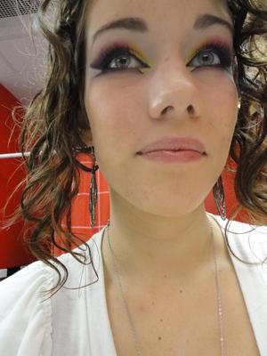 "Look inspired by Karina's ""Arabic Makeup"" Tutorial"