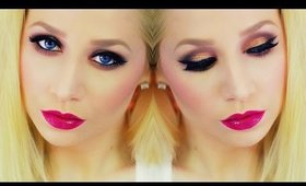 Smokey Bronze Makeup Tutorial Feat. Lorac Pro Palette