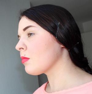 MAC Ablaze Lipstick, MAC Royal Sunset, Bobbi Brown Aruba Blush, Sephora Real Red Lipliner
