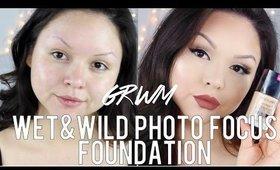 GRWM: Ft. Wet & Wild Photo Focus Foundation | Demo | First Impression