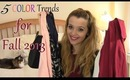 5 Color Trends for Fall Fashion 2013 | TheStylesMeow