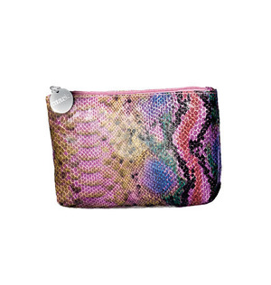 mark Petite Slither Cosmetic Bag It's all in the details  $8.00   Purse perfect! Just pop your daily beauty needs into this snakeskin-print cosmetic bag, toss it in your handbag and run wild. No matter where the day may take you, your stash will remain ta