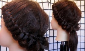 Gorgeous Knot Braid Ponytail | Back To School Hairstyles