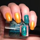 China Glaze Orange You Hot & Color Club Holiday Splendor
