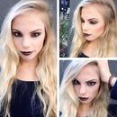90s punk makeup