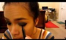 Dramatic Smokey Onyx Party Eyes Makeup Tutorial 2014
