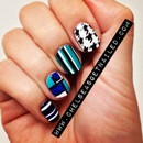 Houndstooth & Geometric Nails