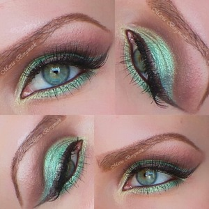 You can find out product list and tutorial in my blog:  http://mariabergmark.wordpress.com/