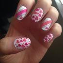 Valentine nails 💗