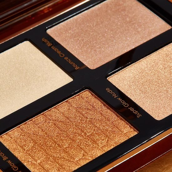 Alternate product image for Bronze Cheek Face Glow Palette shown with the description.