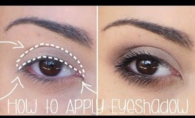 How to Apply Eyeshadow in a Simple Way - Tutorial