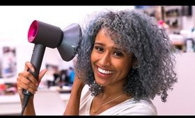 HOW I DRY MY HAIR 4 HOURS FASTER WITHOUT DAMAGE AND  MAINTAIN MY CURLS | DRYING CURLY HAIR ROUTINE