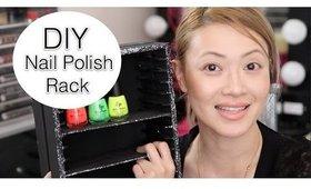 DIY Nail Polish Rack |Fast and Easy