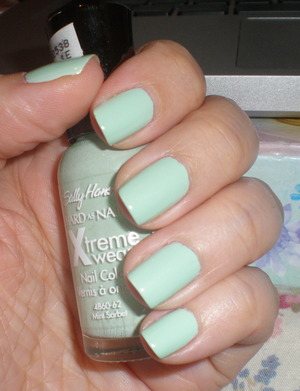 Sally Hansen in Mint Sorbet