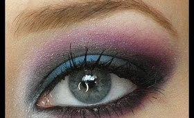 Dramatic Purple and Blue Makeup Tutorial